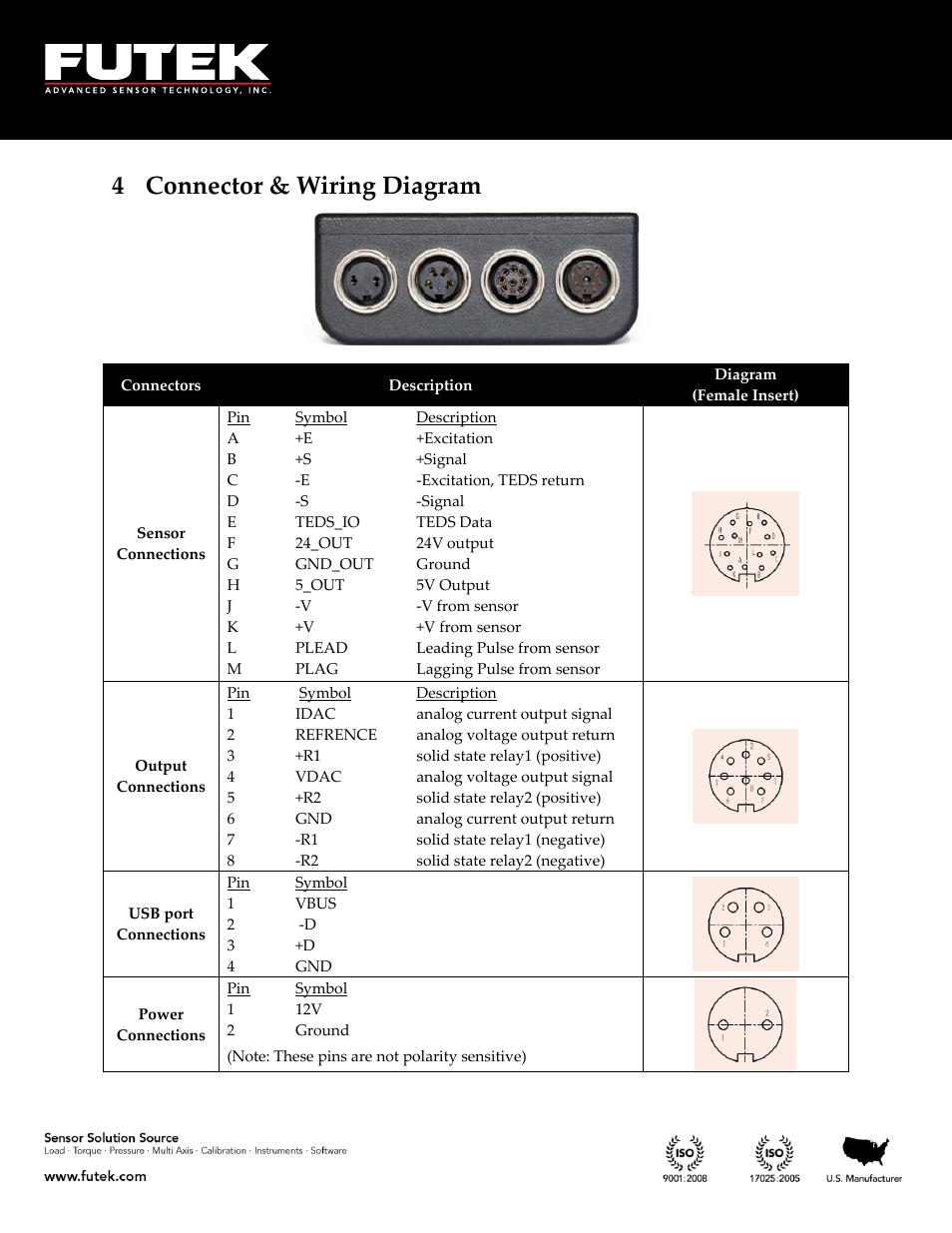 Connector  U0026 Wiring Diagram  4 Connector  U0026 Wiring Diagram