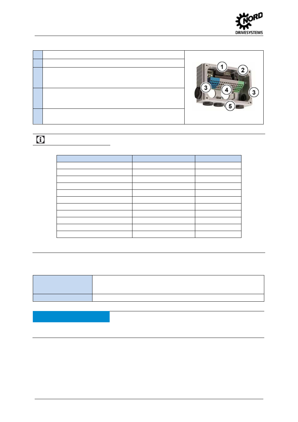 Features, Installation, Information | NORD Drivesystems TI 275280000 User  Manual | Page 2 / 4
