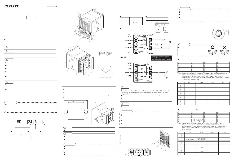 bd-24a-k pdf