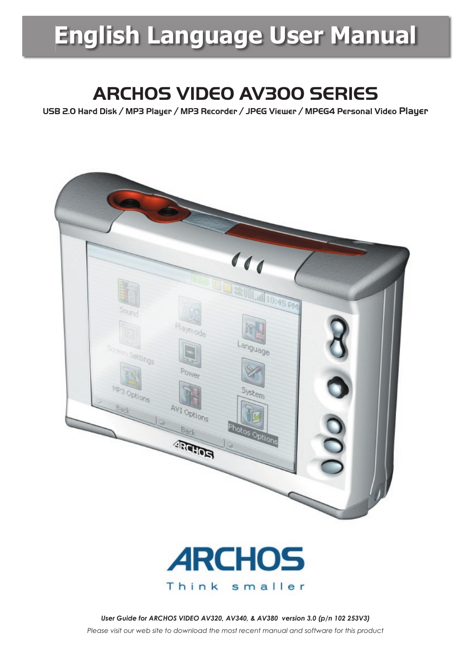 archos av340 user manual 52 pages also for av320 av380 rh manualsdir com Cartoon Manual Operators Manual