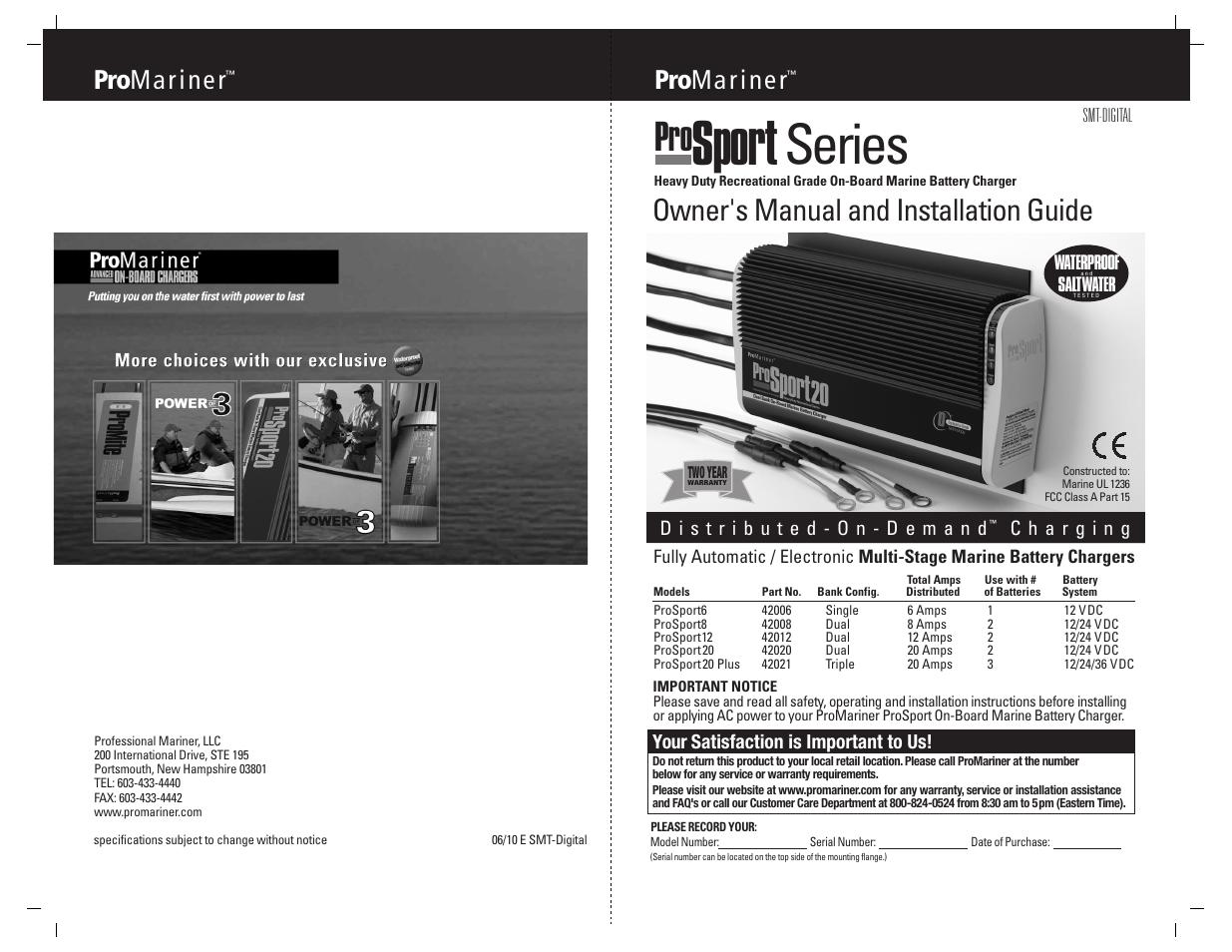 promariner prosport smt user manual 14 pages. Black Bedroom Furniture Sets. Home Design Ideas