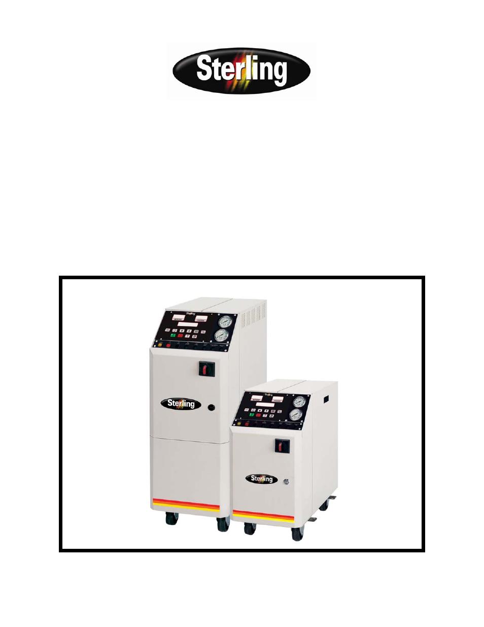 Sterlco Royal Series Compact Temperature Control Unit User