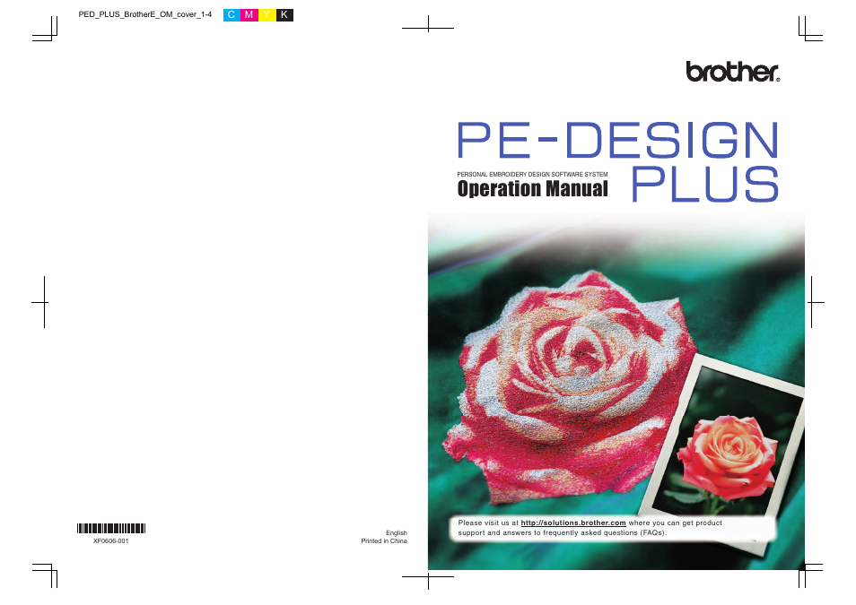 Brother Pe Design Plus User Manual 80 Pages