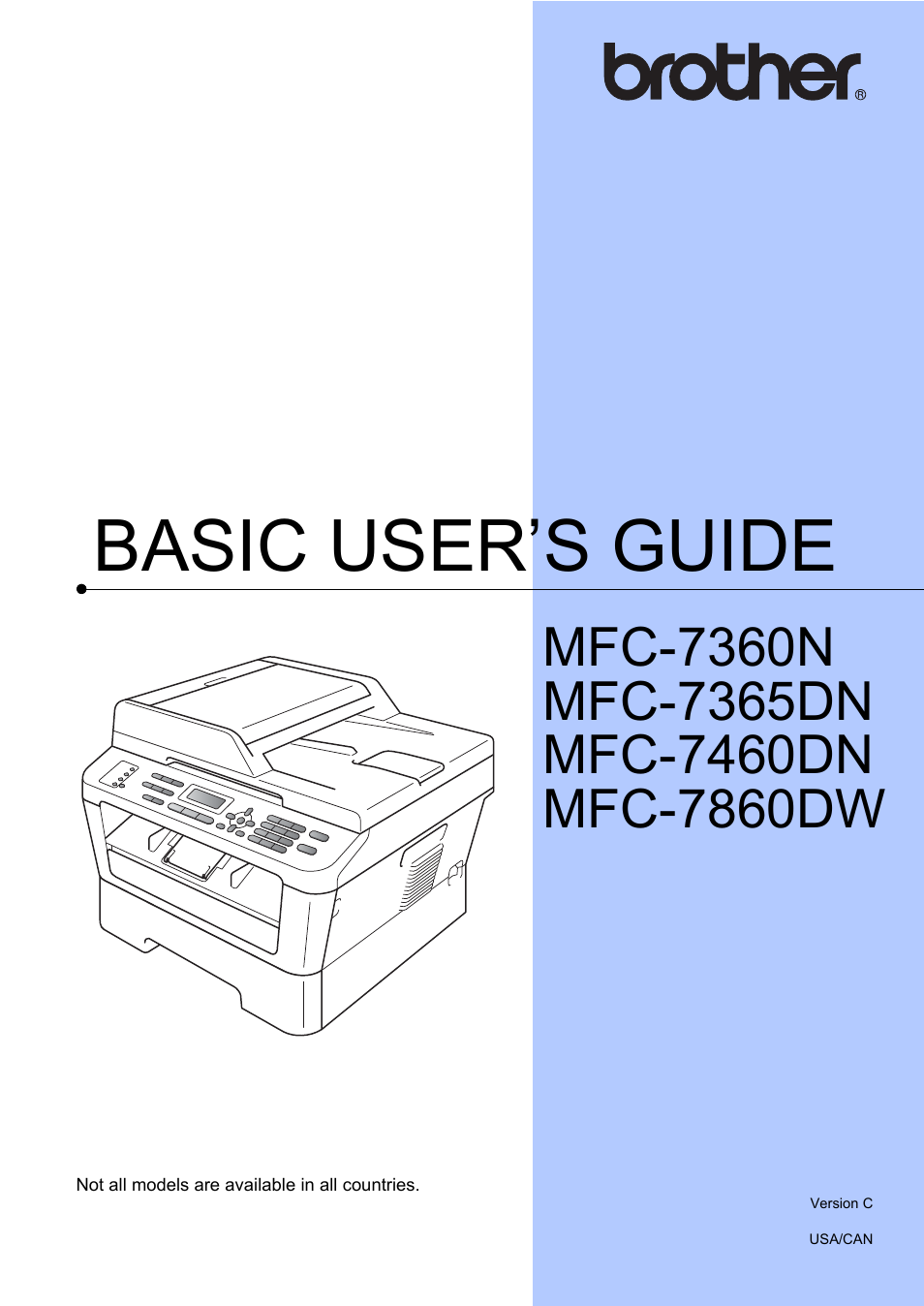 brother mfc 7860dw user manual 162 pages also for mfc 7360n rh manualsdir com Brother MFC- 7860DW brother mfc-7360n network user guide