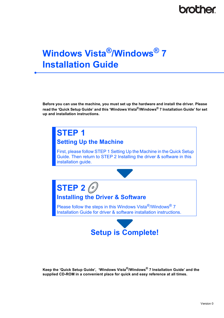 drivers brother mfc-7220 windows 7