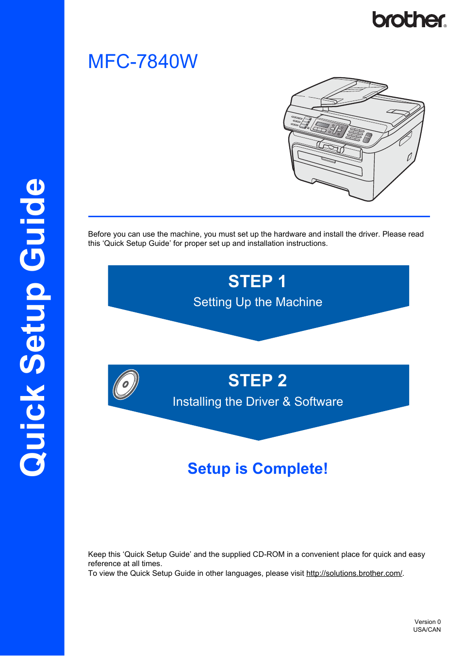 brother mfc 7840w user manual 52 pages rh manualsdir com brother quick setup guide mfc-j480dw brother quick setup guide mfc-j475dw