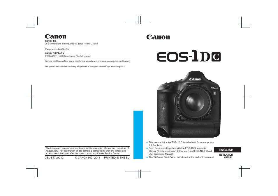 canon eos 1d c user manual 100 pages rh manualsdir com canon eos 1 instruction manual canon eos 1 dx user manual