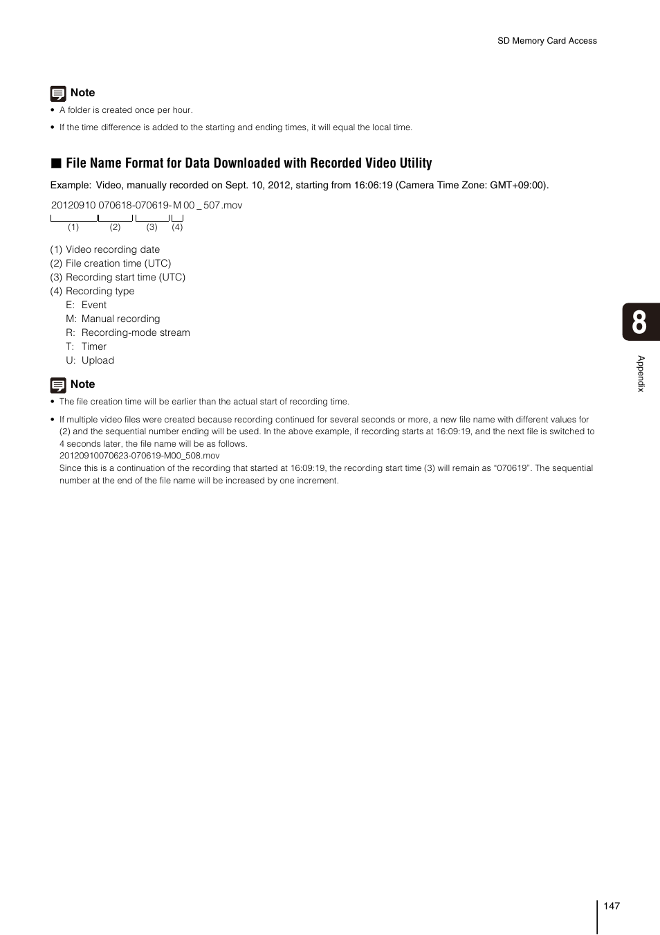 Canon VB-H41 User Manual | Page 147 / 177 | Also for: VB