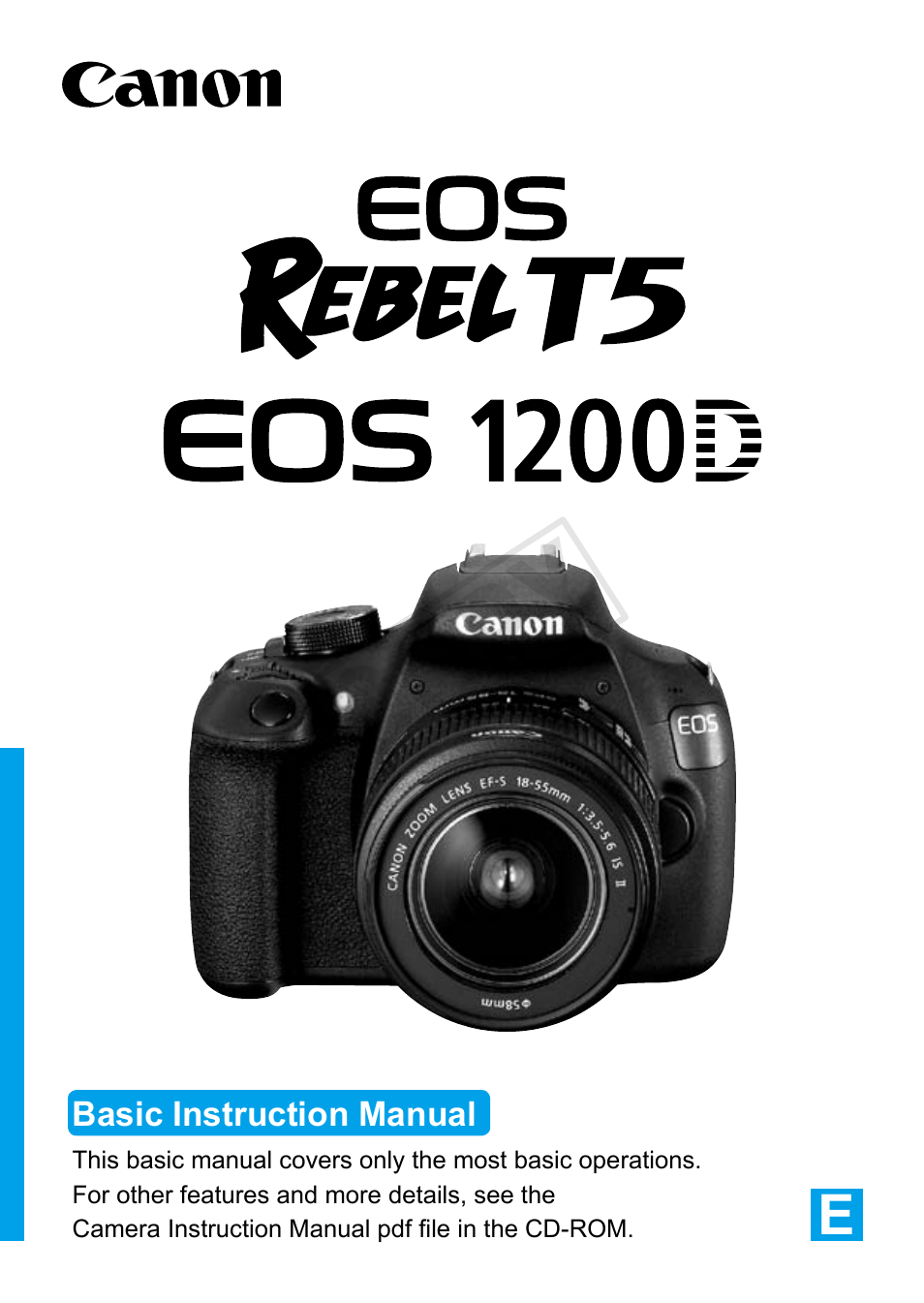 canon eos rebel t5 18 55 is ii kit user manual 116 pages rh manualsdir com canon xt user manual canon rebel xti user manual pdf