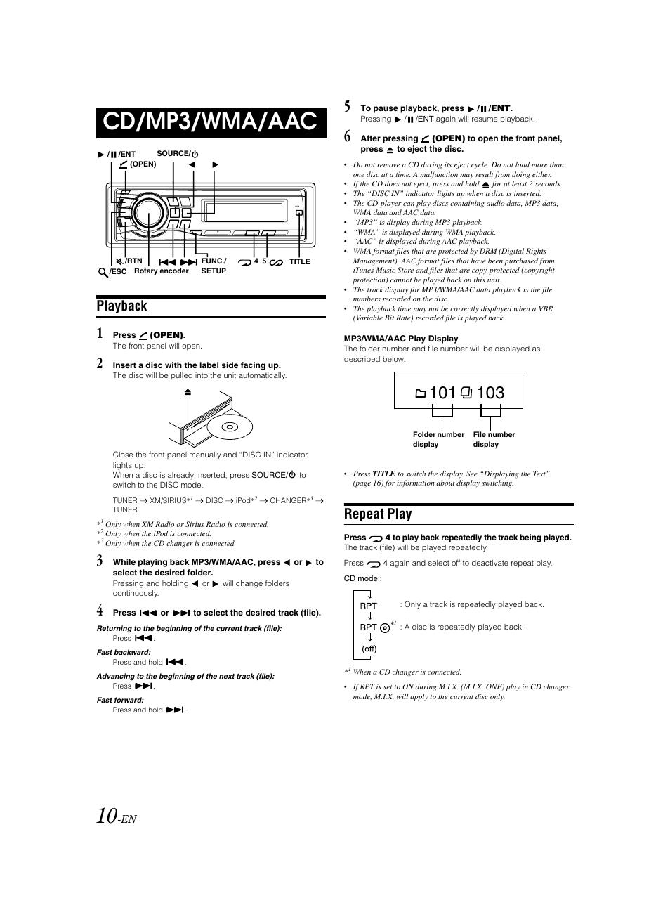 cda 9883 manual