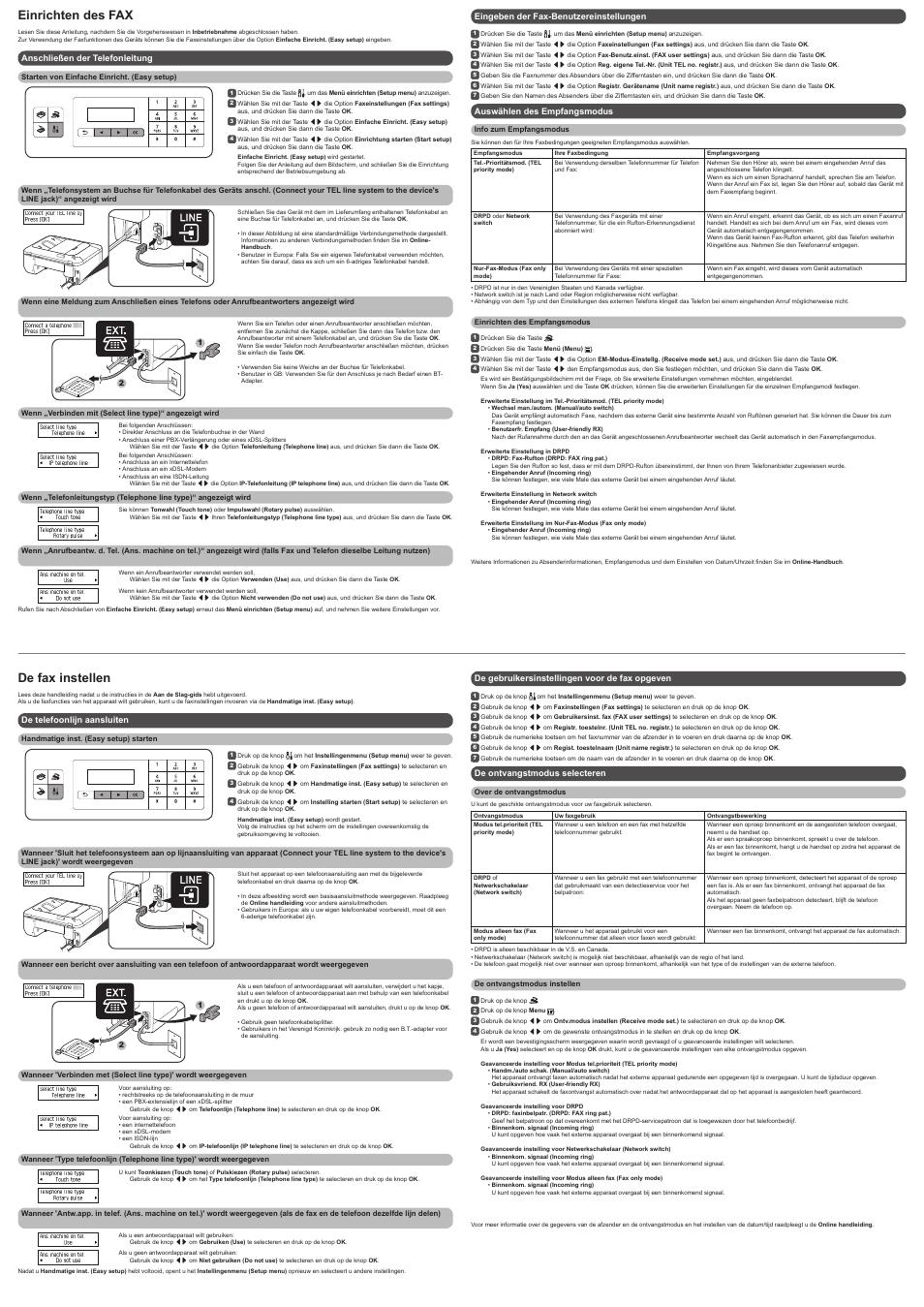 canon manuals fax