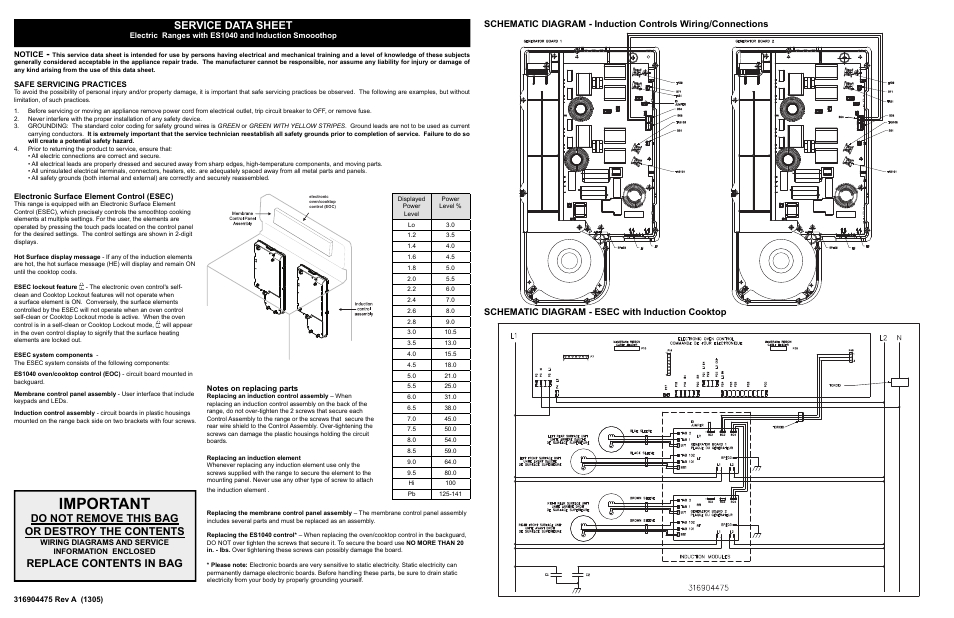 Electrolux Ei30if40ls User Manual