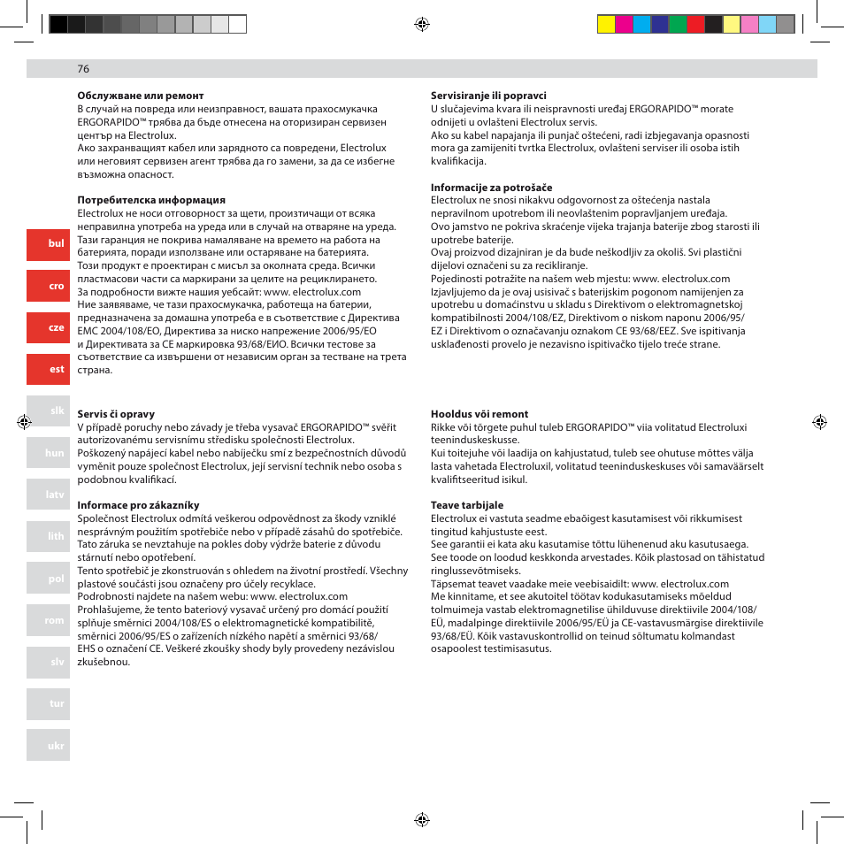 electrolux zb3012 user manual page 76 84 original mode also rh manualsdir com iPhone 5 Manual for Dummies iPod 5 Manual