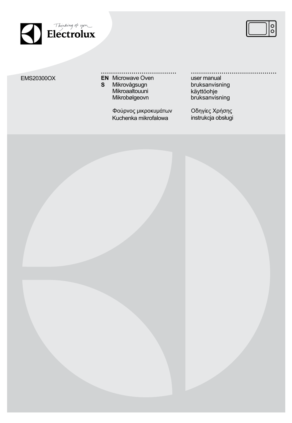 Electrolux Ems20300ox User Manual 88 Pages