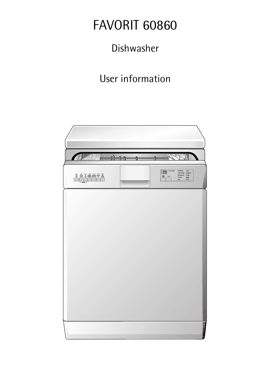 aeg favorit 60860 user manual 48 pages rh manualsdir com aeg electrolux favorit sensorlogic dishwasher user manual aeg favorit sensorlogic dishwasher instruction manual