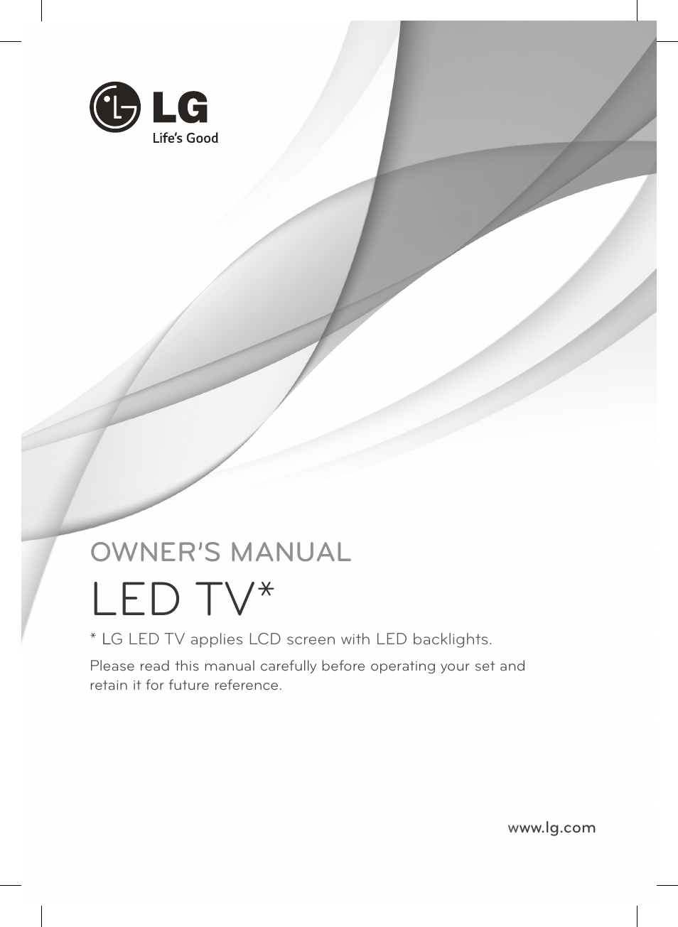 01 eng led tv owner s manual lg 55lb561v user manual page 25 rh manualsdir com lg lcd service manual lg led tv owner's manual