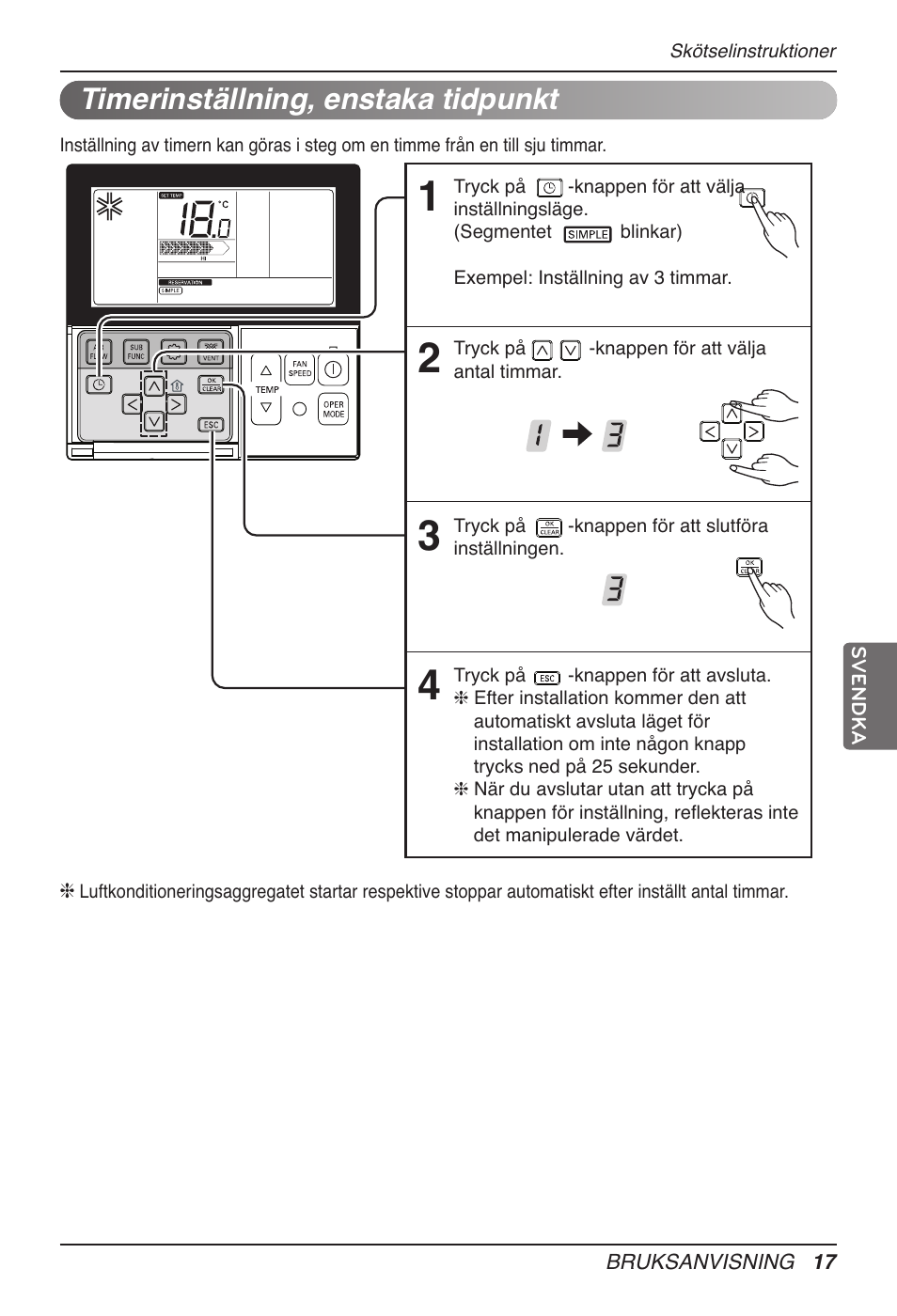 Timerinställning, enstaka tidpunkt | LG UB60 User Manual | Page 377 / 457