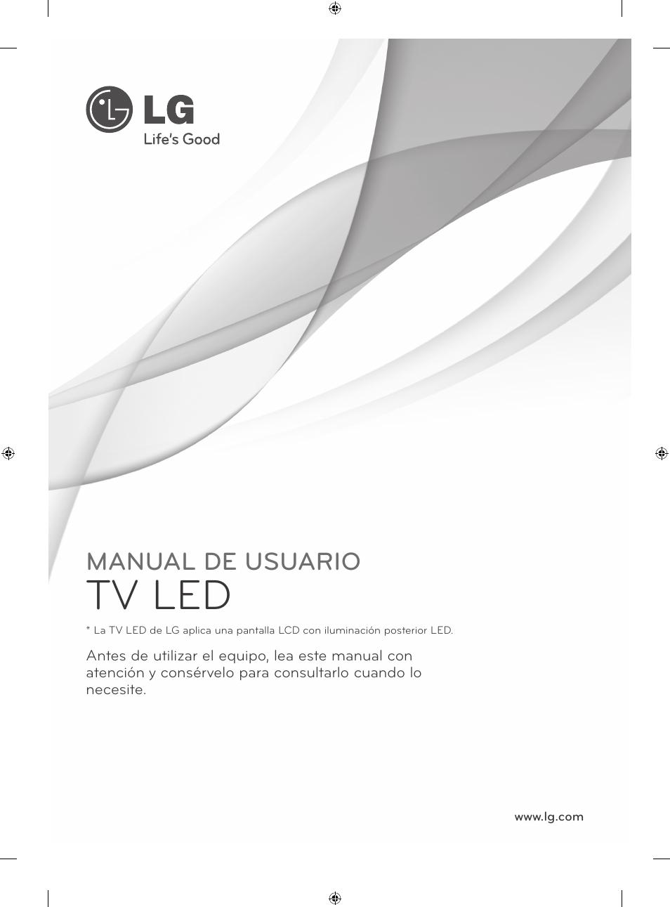 eu 05 mfl67658602 spanish tv led manual de usuario lg 42la620s rh manualsdir com manual de instrucciones de smart tv lg manual instrucciones tv lg flatron