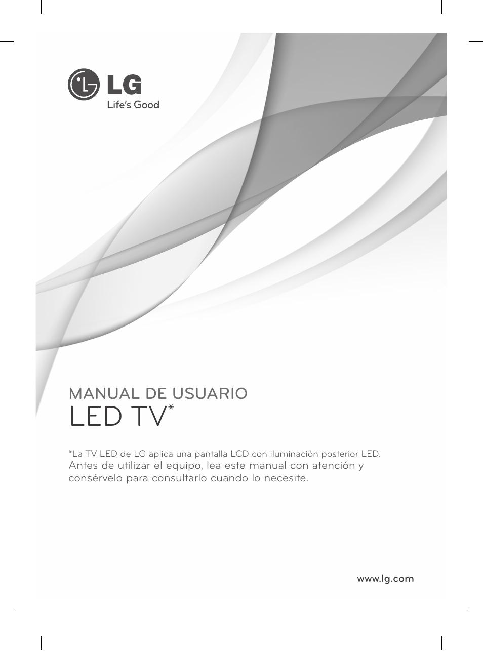 Led tv | LG 42LN5200 User Manual | Page 105 / 208