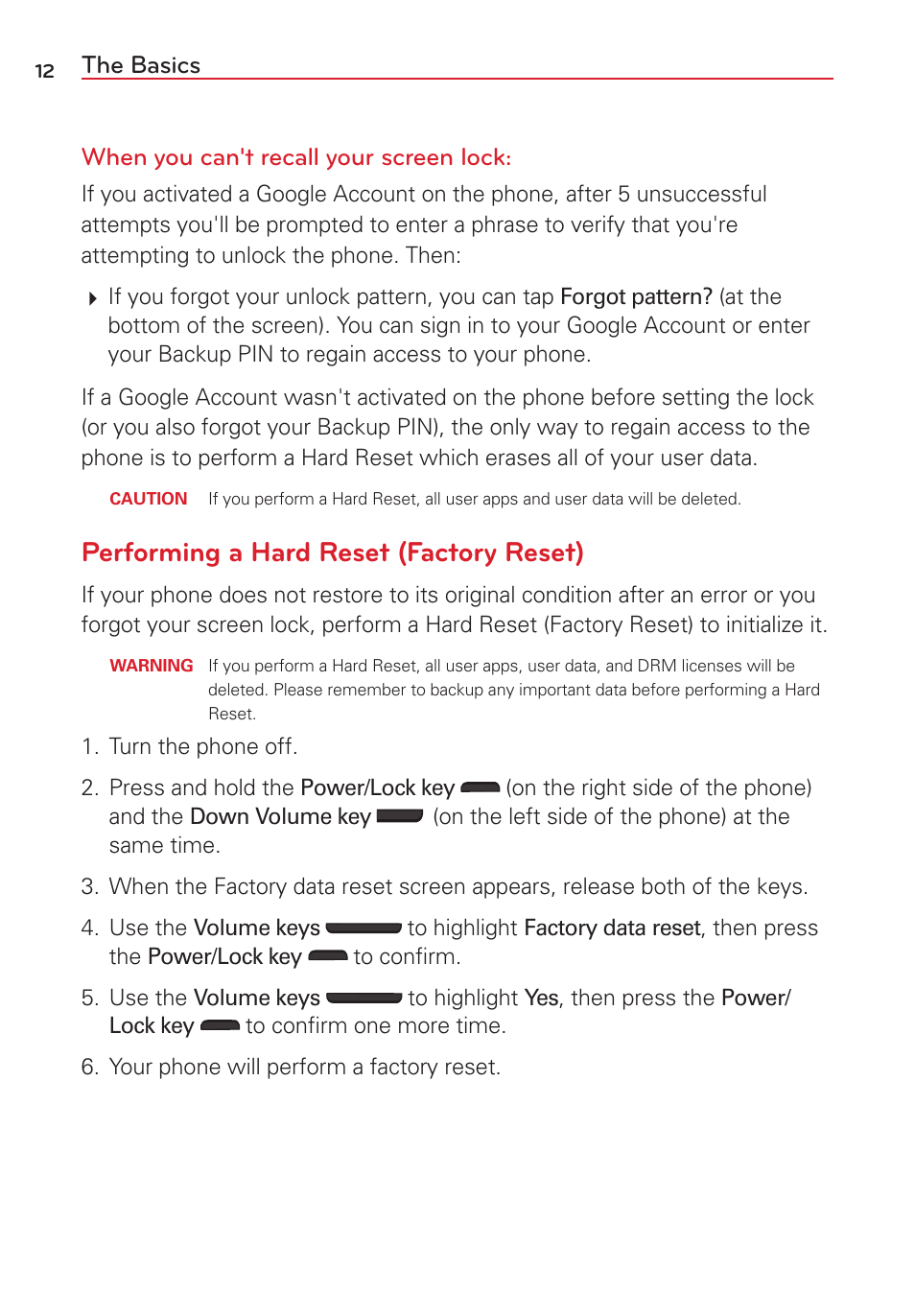do you need an activation key if you do a factory reset