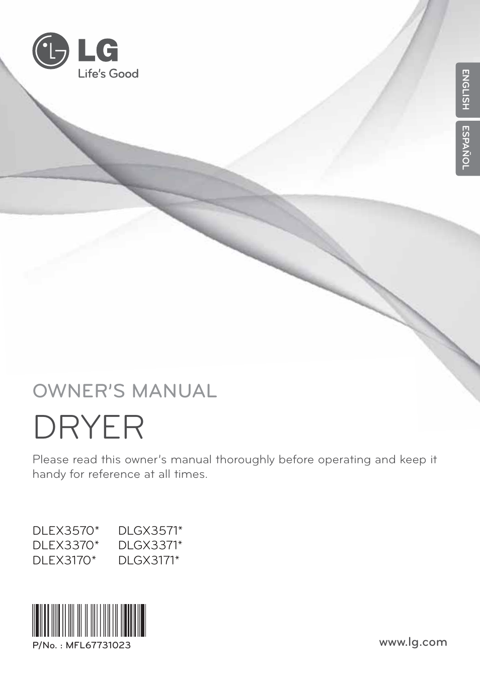 lg dlex3570w user manual 116 pages also for dlgx3571v rh manualsdir com samsung dryer owner's manual lg truesteam dryer owners manual