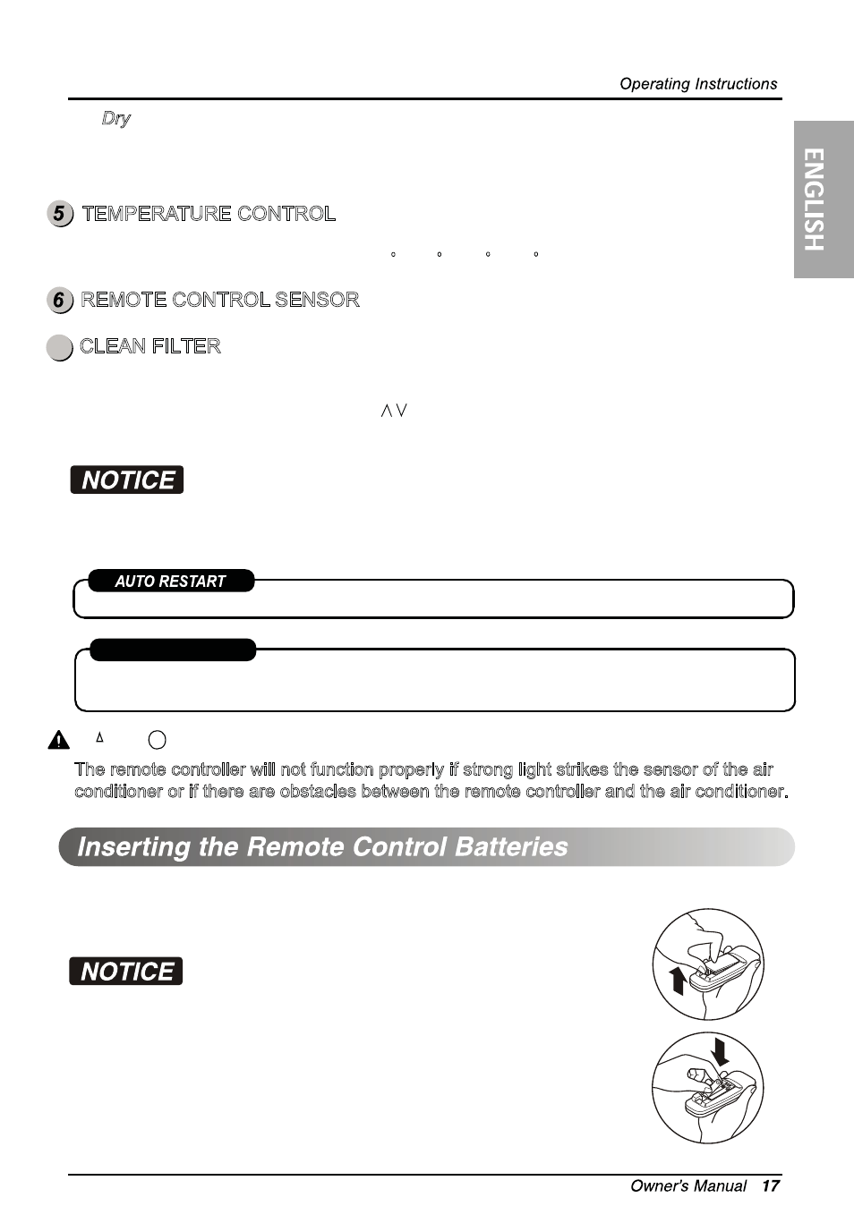 Caution | LG LW1014ER User Manual | Page 17 / 48