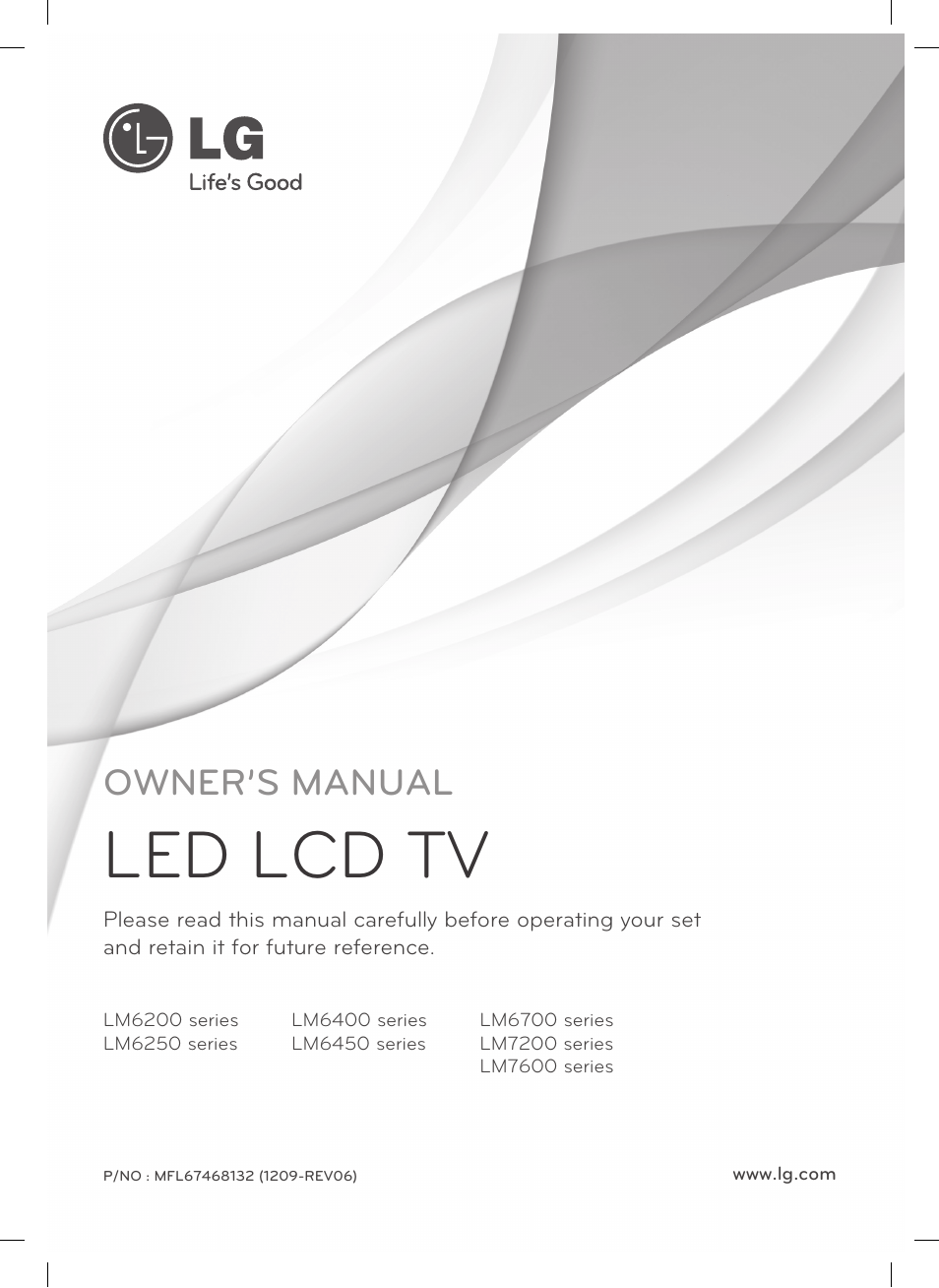 lg 47lm7600 user manual 44 pages also for 47lm6700 55lm6700 rh manualsdir com lg 55lm7600 user manual TV LG 55LM7600