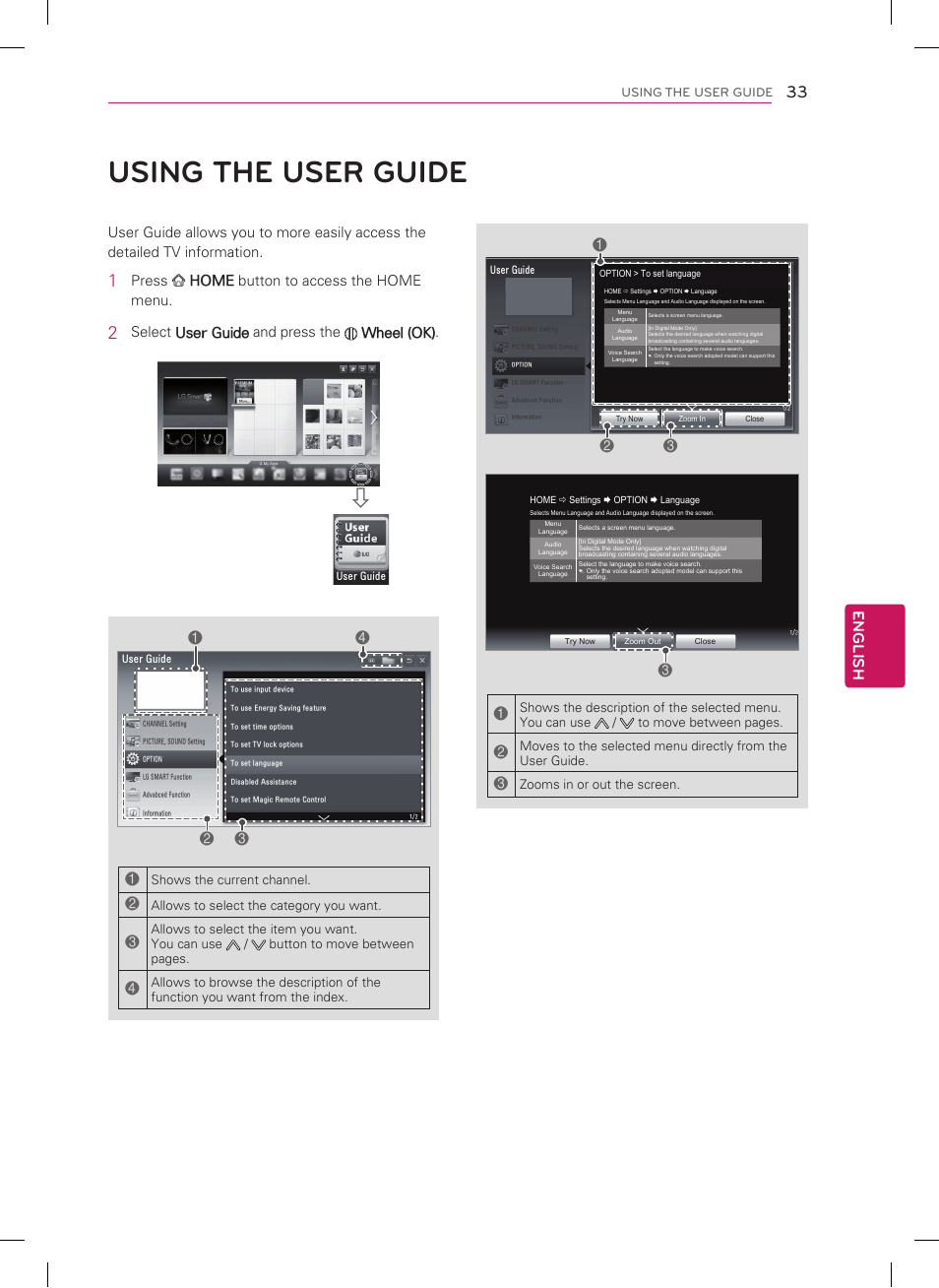 using the user guide english lg 55lm7600 user manual page 33 44 rh manualsdir com TV LG 55LM7600 LG 55LM7600