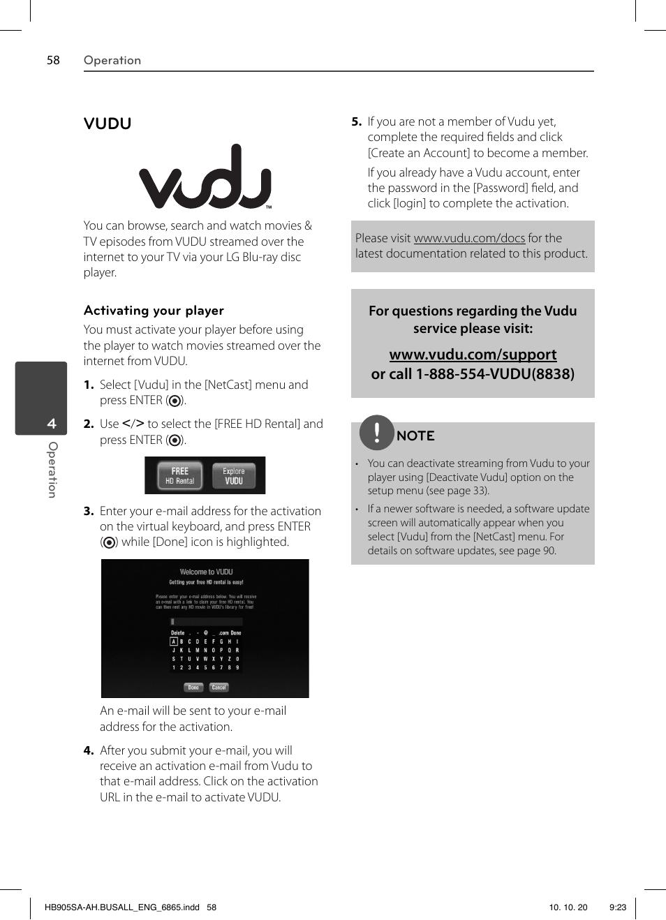 vudu lg lhb335 user manual page 58 104 original mode rh manualsdir com LG Surround Sound LG Component Connection