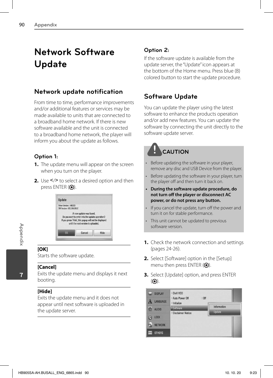 network software update network update noti cation software rh manualsdir com