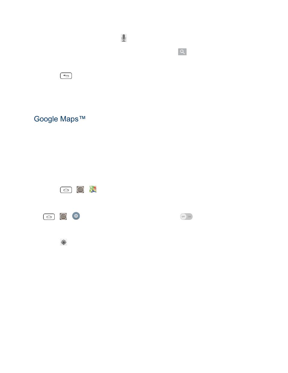 Gps navigation, Google maps   LG LGLS990 User Manual   Page