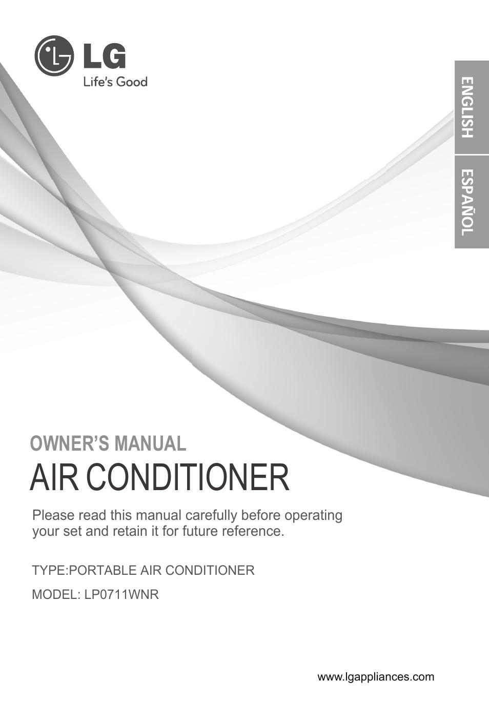 lg lp0711wnr user manual 48 pages rh manualsdir com Corvette Owners Manual User Manual PDF