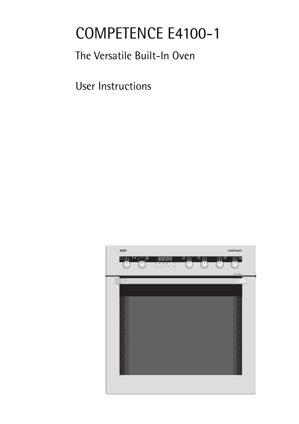 aeg competence e4100 1 user manual 68 pages rh manualsdir com aeg competence oven manual aeg electrolux stove manual