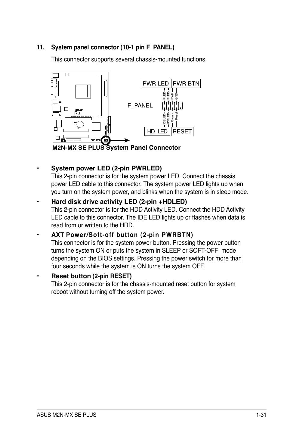 Asus M2n MX инструкция