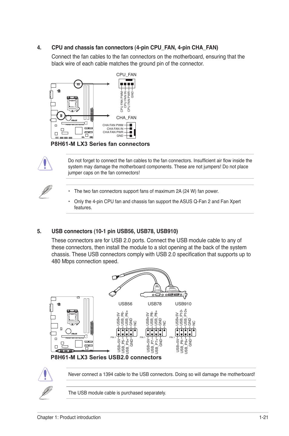 p8h61 m lx3 series fan connectors asus motherboard p8h61 m lx3 motherboard connection diagram p8h61 m lx3 series fan connectors asus motherboard p8h61 m lx3 series user manual page 31 65