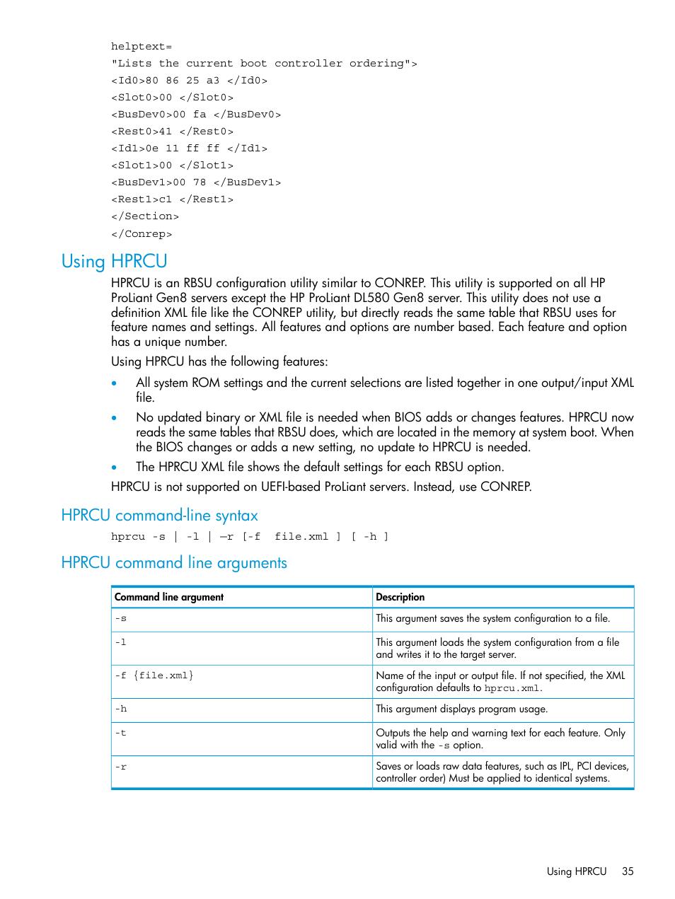 hprcu linux
