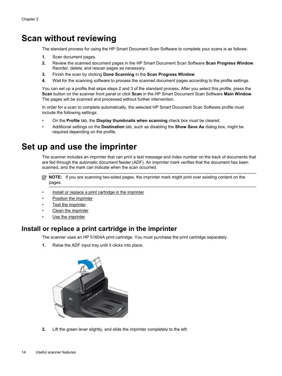 Hp scanjet enterprise flow n9120 flatbed scanner user manual.