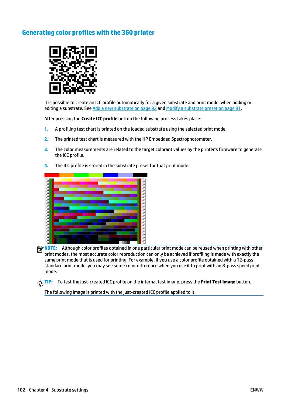 generating color profiles with the 360 printer hp latex 360 rh manualsdir com hp 8610 printer user manual hp printer user manual pdf