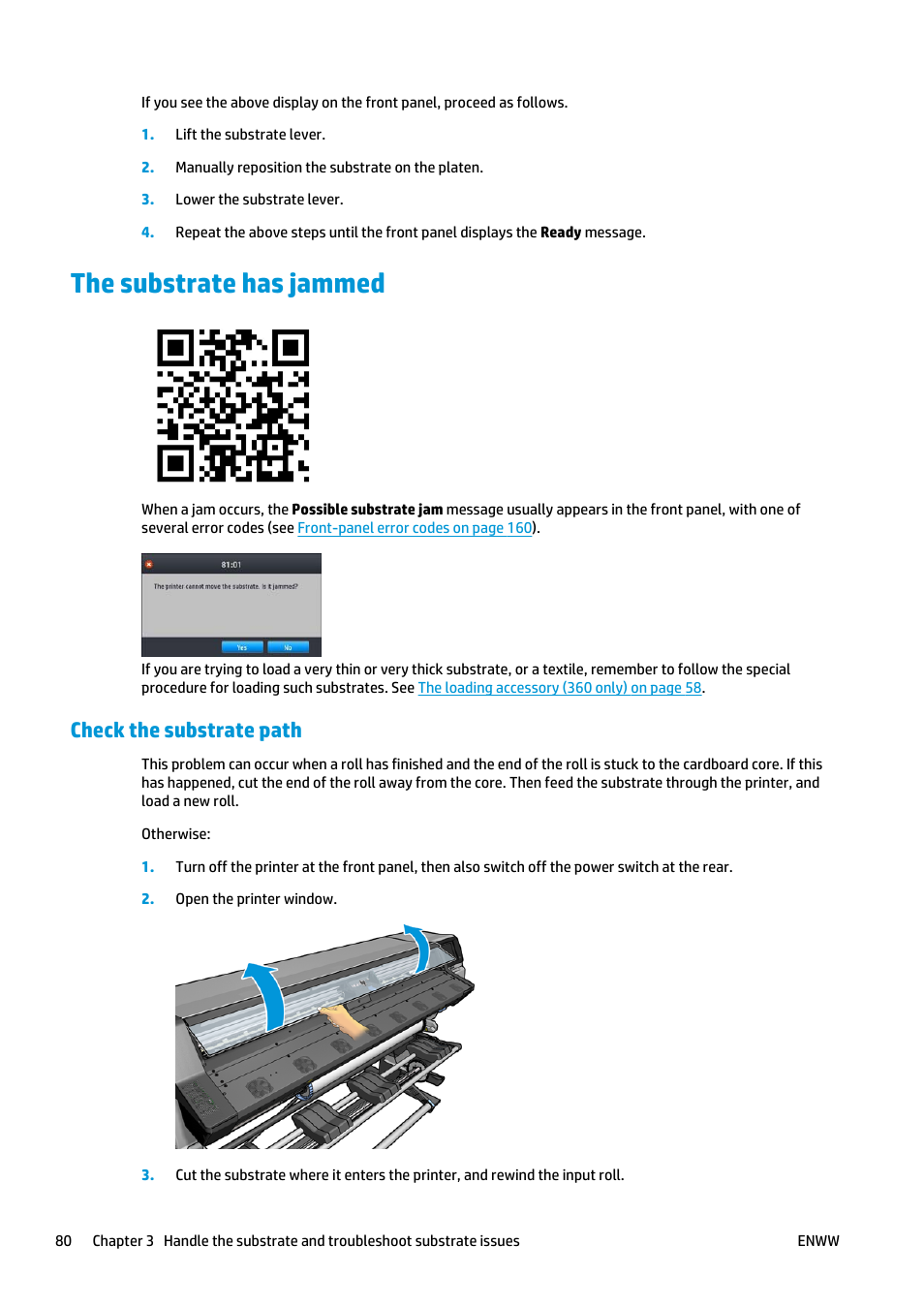 The substrate has jammed check the substrate path hp latex 360 the substrate has jammed check the substrate path hp latex 360 printer user manual page 86 184 ccuart Image collections