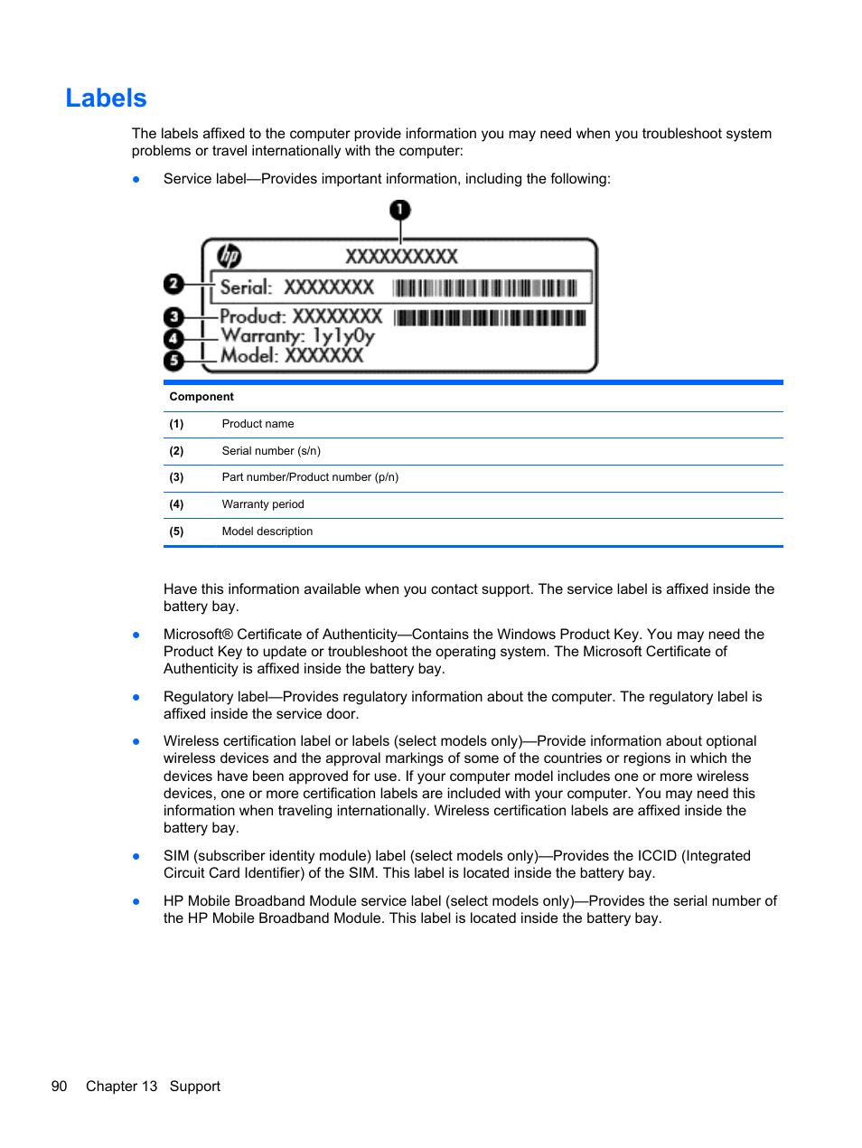 labels hp probook 450 g1 notebook pc user manual page 100 113 rh manualsdir com hp deskjet manuals downloads hp envy desktop manual