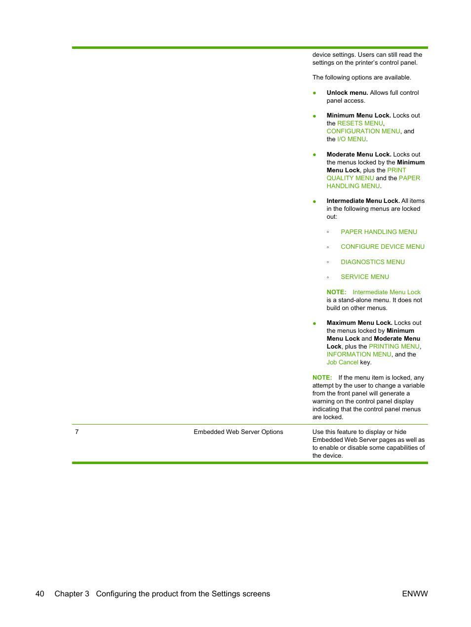 HP LaserJet P4014 Printer series User Manual | Page 50 / 72 | Also for:  LaserJet P4015 Printer series, LaserJet P4510 Printer series