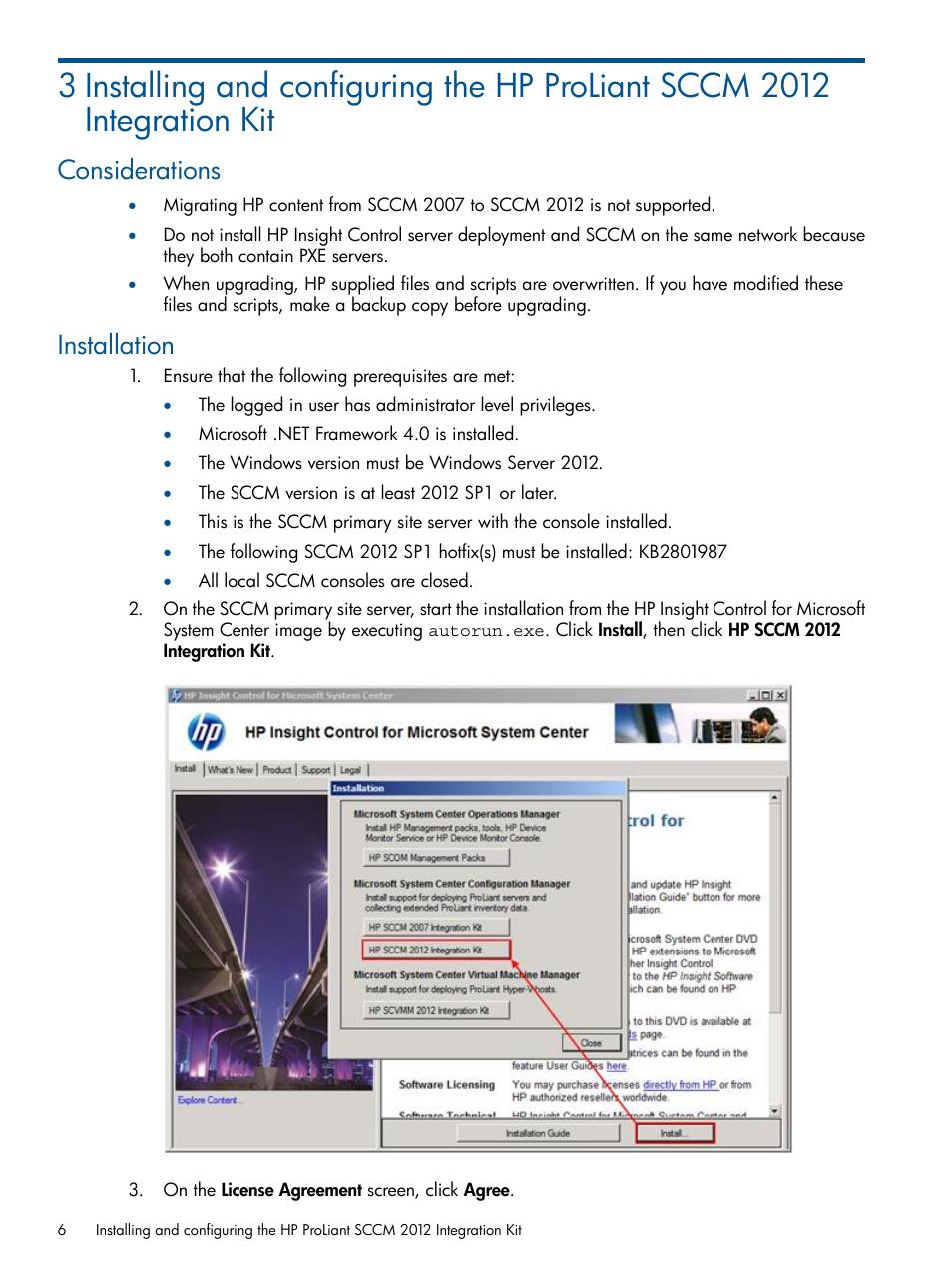 Considerations, Installation, Considerations installation | HP