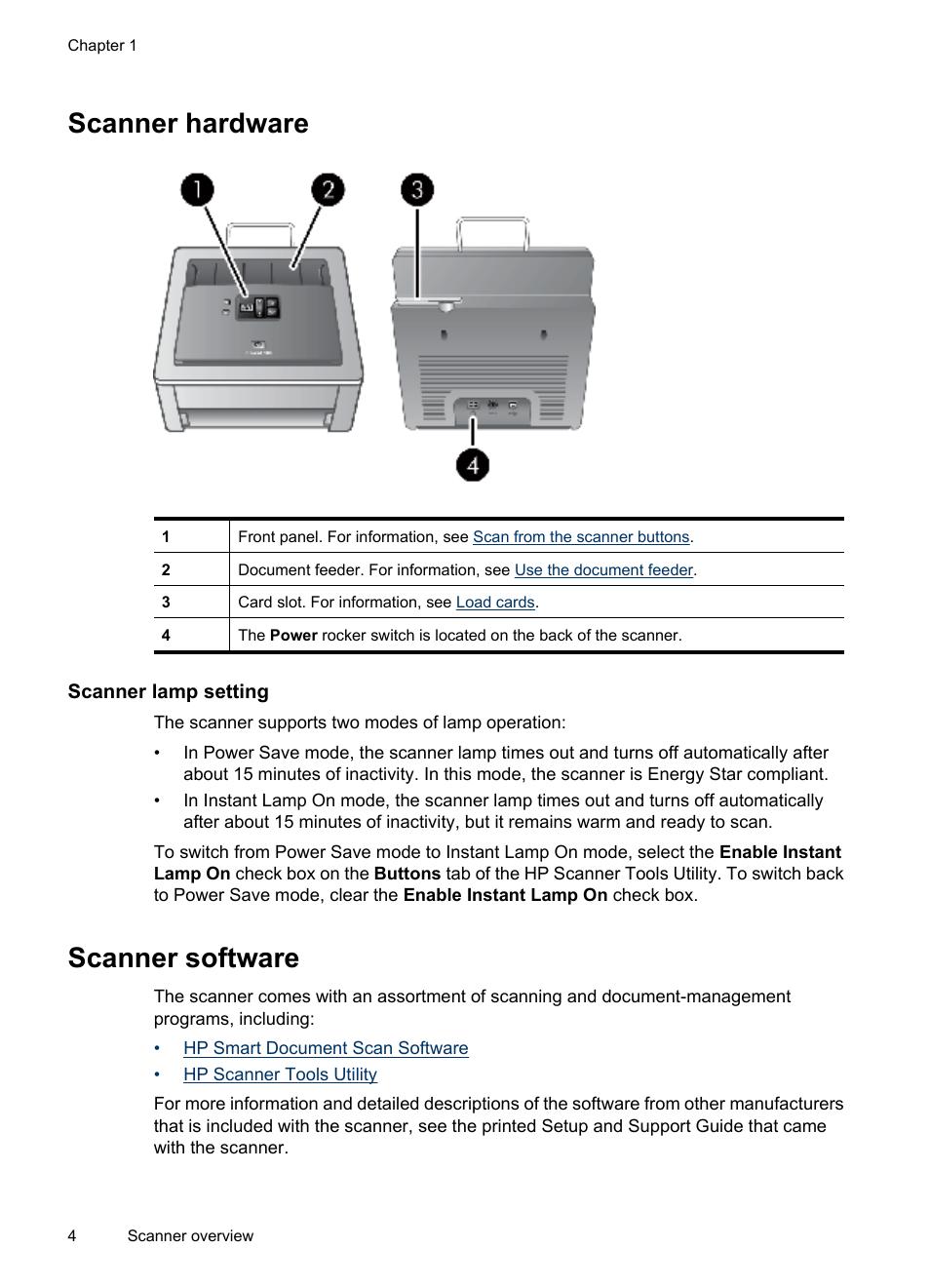 scanner hardware scanner lamp setting scanner software hp rh manualsdir com HP Pavilion Desktop Manuals hp designjet 4500 scanner user manual