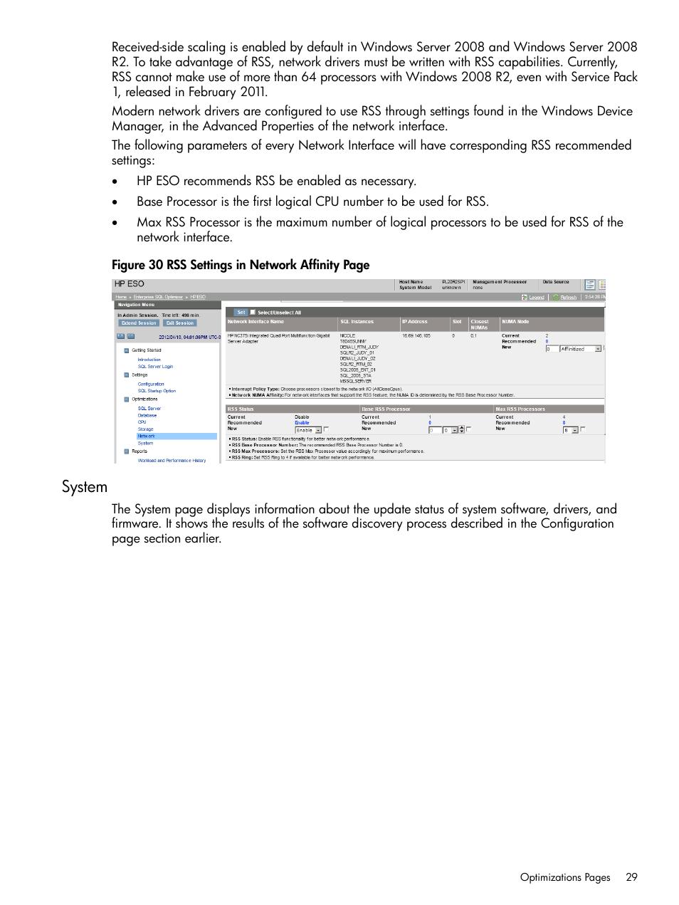 system hp proliant dl980 g7 server user manual page 29 35 rh manualsdir com sql server user guide sql server user guide pdf