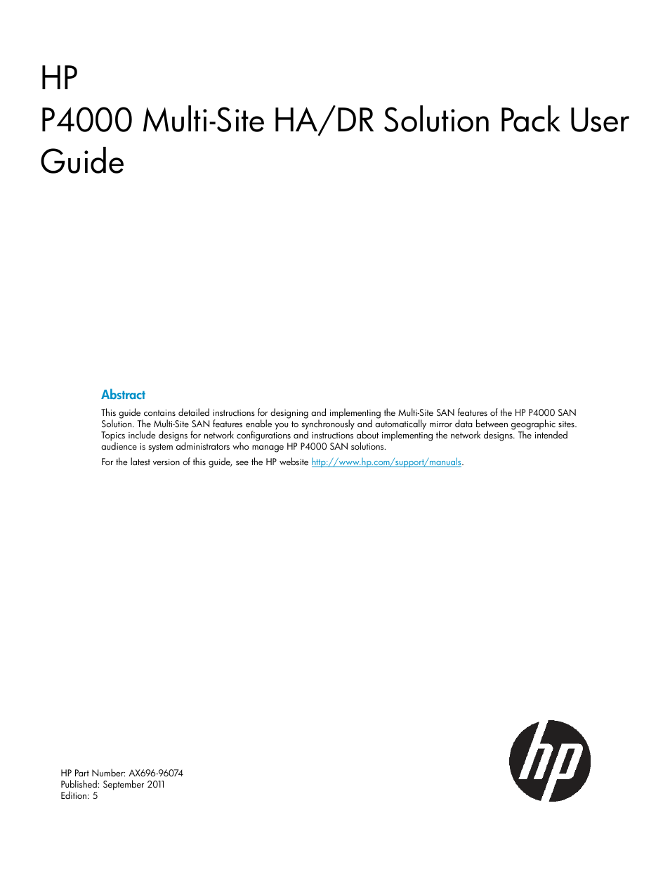 hp storevirtual 4000 storage user manual 40 pages also for rh manualsdir com Online User Guide Example User Guide