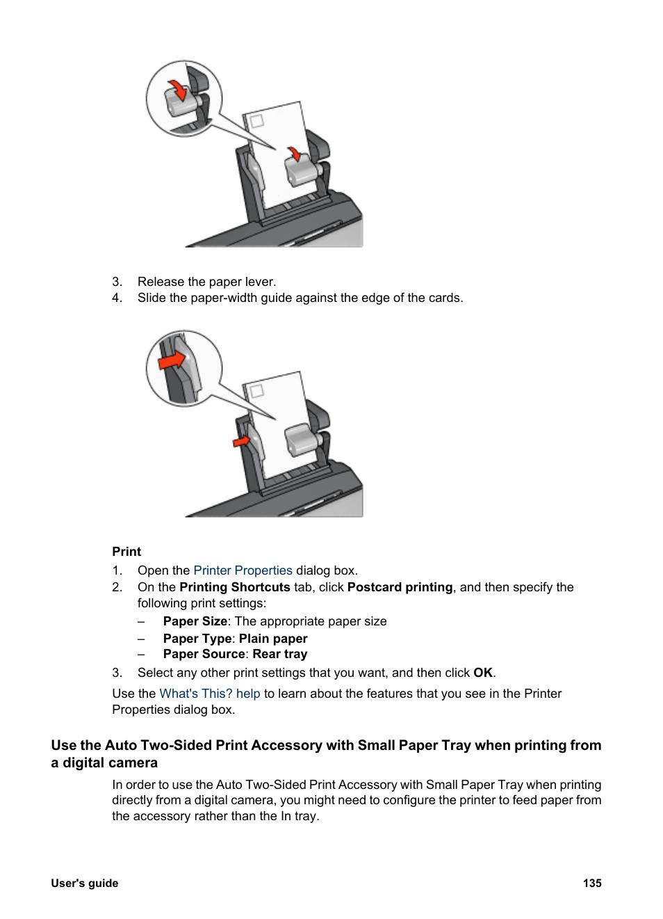 HP Deskjet 6940 User Manual | Page 137 / 150 | Also for