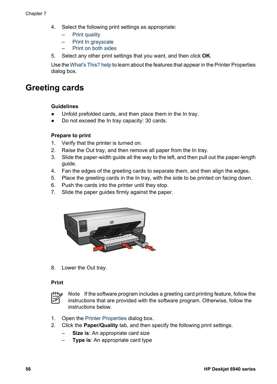 Greeting cards hp deskjet 6940 user manual page 58 150 m4hsunfo