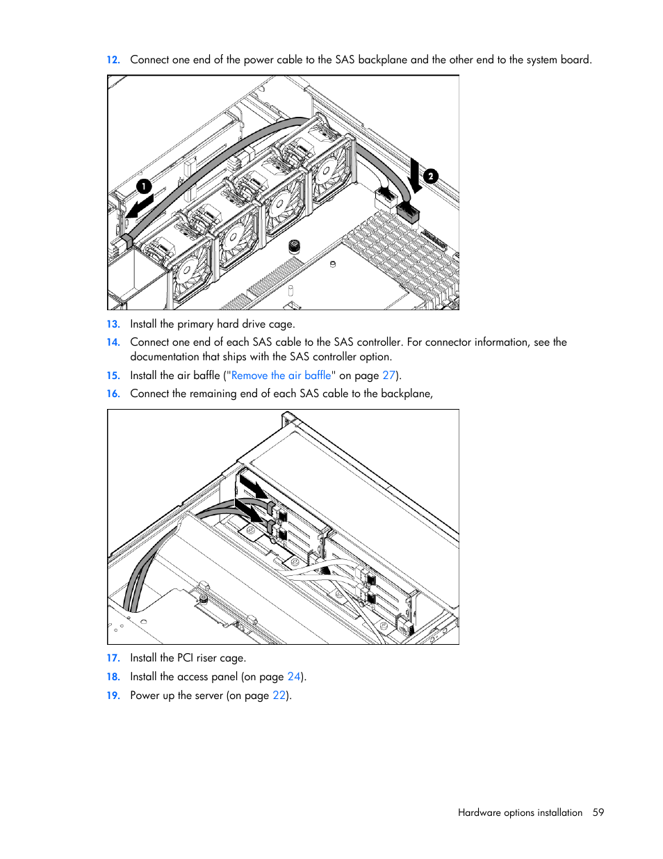 HP ProLiant DL380 G6 Server User Manual | Page 59 / 117