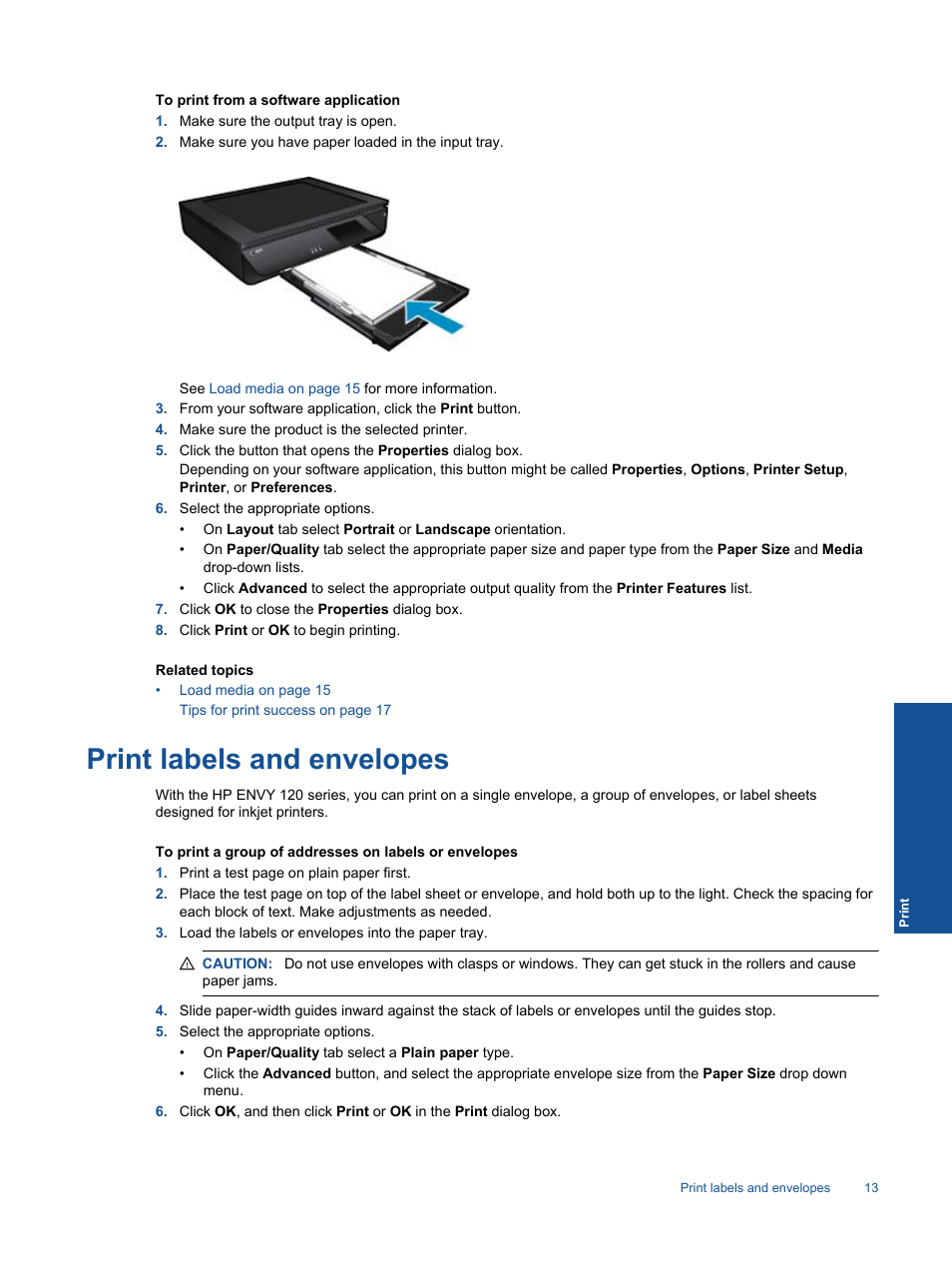 How to Load Labels Into an Inkjet Printer recommend
