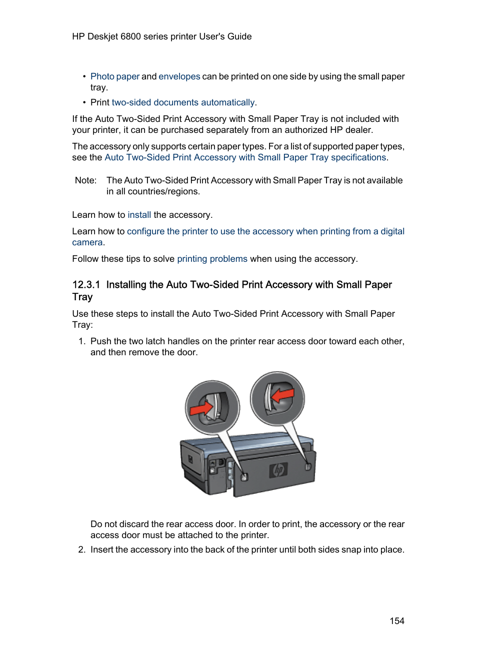 HP Deskjet 6840 Color Inkjet Printer User Manual   Page 154 / 176